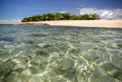 Isola di mare del sud, Fiji Fotografie Stock Libere da Diritti