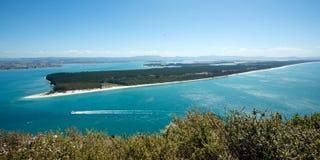 Isola di Matakana immagine stock