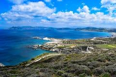 Isola di Milo fotografie stock libere da diritti
