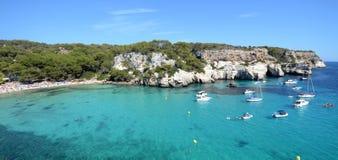 Isola di Minorca Immagini Stock