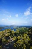 Isola di Mljet - del Croatia Fotografia Stock