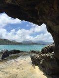 Isola di Mokulele Immagine Stock