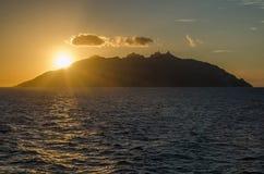 Isola di Montecristo, Италия Стоковое Изображение