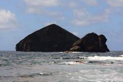 Isola di Mosteiros in Azzorre Fotografia Stock Libera da Diritti