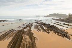 Isola di Mouro Santander Immagini Stock