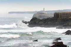 Isola di Mouro Santander Fotografie Stock