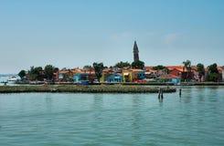 Isola di Murano Fotografie Stock Libere da Diritti