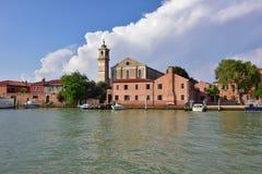 Isola di Murano Fotografia Stock Libera da Diritti
