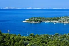 Isola di Murter - del Croatia Immagine Stock