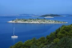 Isola di Murter - del Croatia Fotografie Stock Libere da Diritti