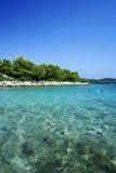 Isola di Murter - del Croatia Fotografia Stock Libera da Diritti
