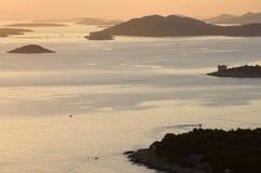 Isola di Murter - del Croatia Fotografia Stock