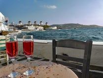 Isola di Mykonos, Grecia Immagini Stock