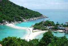 Isola di Nang Yuan in Tailandia Fotografia Stock Libera da Diritti