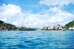 Isola di Nang Yuan in Tailandia Fotografia Stock