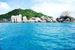 Isola di Nang Yuan in Tailandia Immagine Stock Libera da Diritti