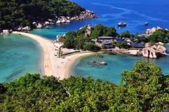 Isola di Nangyuan fotografie stock libere da diritti