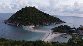 Isola di Naungyaun Fotografie Stock Libere da Diritti
