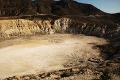 Isola di Nisyros Volcano Greece Fotografie Stock Libere da Diritti