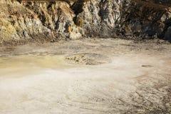 Isola di Nisyros Volcano Greece Fotografia Stock