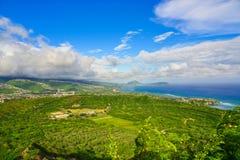 Isola di Oahu, Hawai, U.S.A. Fotografia Stock Libera da Diritti