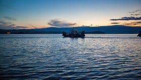 Isola di Olkhon, il lago Baikal Immagini Stock Libere da Diritti