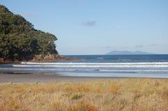 Isola di orizzonte fotografia stock libera da diritti