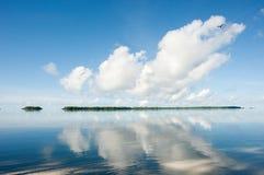 Isola di Palau e vista sul mare Fotografia Stock