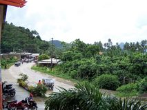 Isola di Palawan, Filippine all'area di località di soggiorno Immagini Stock Libere da Diritti