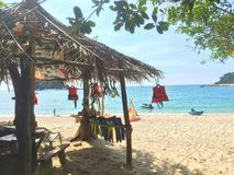 Isola di Pangkor immagine stock libera da diritti