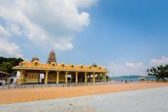 Isola di Pangkor del tempio di hinduism di Kaliamman fotografia stock libera da diritti