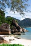 Isola di Pankor Laut fotografie stock