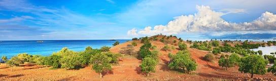 Isola di panorama fotografie stock