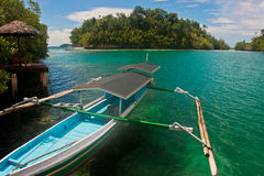Isola di paradiso Immagini Stock Libere da Diritti