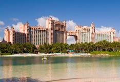 Isola di paradiso, Bahamas Fotografie Stock