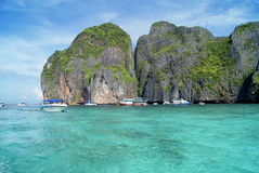 Isola di paradiso in Tailandia Fotografia Stock Libera da Diritti