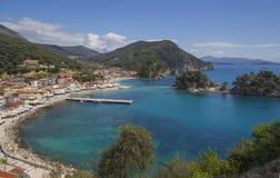 Isola di Parga Grecia Fotografia Stock Libera da Diritti