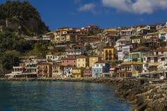 Isola di Parga Grecia Immagini Stock