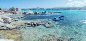 Isola di Paros fotografia stock libera da diritti