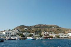 Isola di Patmos Fotografie Stock Libere da Diritti