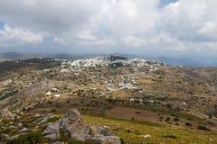Isola di Patmos in Grecia fotografie stock libere da diritti