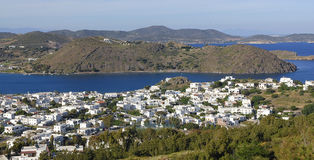 Isola di Patmos, Grecia Fotografie Stock