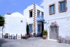 Isola di Patmos, Grecia immagini stock libere da diritti