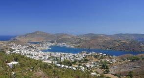Isola di Patmos, Grecia immagini stock