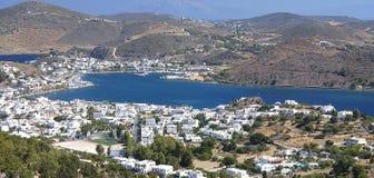 Isola di Patmos, Grecia fotografie stock libere da diritti