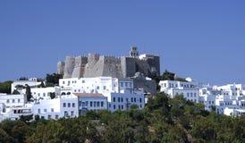 Isola di Patmos, Grecia Fotografia Stock