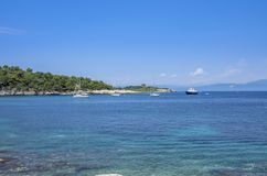 Isola di Paxos - Grecia - Mar Ionio immagini stock libere da diritti