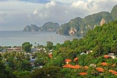 Isola di Phi di Phi del KOH Fotografie Stock Libere da Diritti