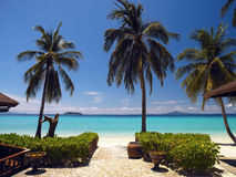 Isola di Phi di Phi di Ko - Tailandia Immagine Stock