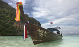 Isola di Phi di Phi - Tailandia Fotografia Stock